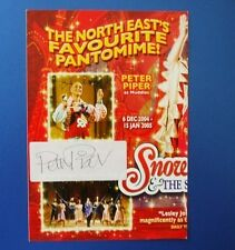 THEATRE FLYER SNOW WHITE AND THE SEVEN DWARFS SIGNED BY PETER PIPER