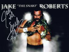Jake 'The Snake' Roberts Signed Autographed 8x10 Photo  w/COA - WWE Hall Of Fame