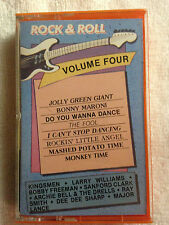 Rock & Roll - Volume Four - (Various Artists) - 1985 Cassette Tape Starday Rec.
