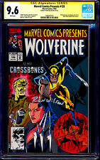 Marvel Comics Presents #129 CGC SS 9.6 signed Ron Wilson WOLVERINE
