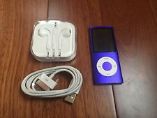 Apple iPod nano 4th Generation Purple (16GB) Mint Condition