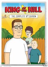 King of the Hill ~ Complete 8th Eighth Season 8 Eight ~ BRAND NEW 3-DISC DVD SET
