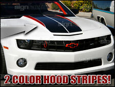 2010 2011 2012 2013 Chevy Camaro Custom Hood Racing Stripe Graphics SS Z28 RS