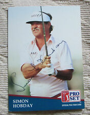RARE SIMON HOBDAY AUTO SIGNED TRADING CARD PGA TOUR GOLFER BLOWOUT SALE
