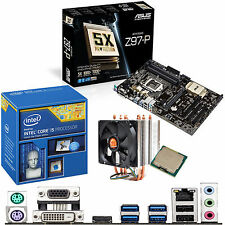 OVERCLOCKED Core i5 4690K 4.5Ghz & ASUS Z97-P - Motherboard & CPU Bundle
