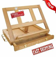 The Marquis Artists Desk Easel Wood Drawing Painting Draft Art Sketch Table Top