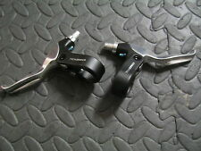 Tektro 2 Finger Mountain Bike Brake Lever Levers Pair Light 88mm New MTB