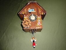 Mapsa Edelwesiss Vintage Musical Clock Made in Germany in Non Working Condition