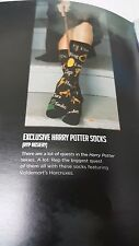 Loot Crate Exclusive Hyp Hosiery Harry Potter Horcrux Socks NWT
