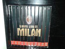 BOX COFANETTO 11 DVD LA GRANDE STORIA DEL MILAN AC NEW