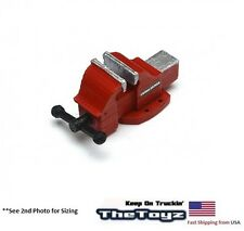 1/10 Crawler, Drift RC Scale Garage Miniature Replica Red Bench Vise TSH-BV03