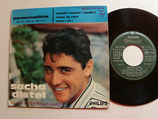 "SACHA DISTEL: Ouah ! Ouah ! Ouah ! 7"" EP 1959 French PHILIPS 432.389 C BOLLING"