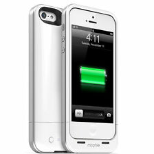 Mophie Juice Pack Air Battery Booster IPhone SE 5s & 5 White Pokemon Go Extra