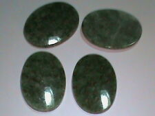 36 AAA Grade Wyoming Jade 25x18 Oval Cabachons Fine Made In German Quality