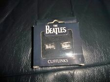 THE BEATLES  CUFF LINKS  OFFICIAL APPLE CORPS NICE PRESENTATION  BOX FAB!