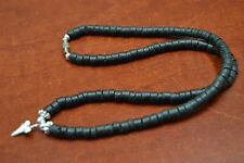 SHARK TOOTH BLACK COCO SHELL NECKLACE #5069