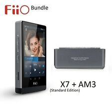 FiiO X7 Standard Edition Lossless (FLAC/MP3) DAP/DAC+AM3 Balanced Module BUNDLE