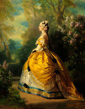 Winterhalter Xaver Frans The Empress Eugenie Print 11 x 14   #3648