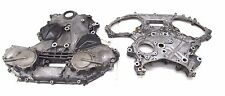 2003-2005 NISSAN 350Z COUPE OEM FRONT & REAR ENGINE CHAIN COVER PLATE SET