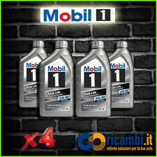 KIT 4 LITRI OLIO MOTORE MOBIL 5w50 PEAK LIFE FULL SYNTHETIC RALLY FORMULA