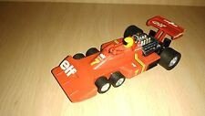 Scalextric exin tyrrell p34  # 4054 original 1977 year red