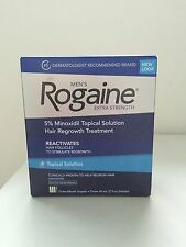 ROGAINE Extra Strenght Solution ( REGAINE ) 5% MINOXIDIL 3 month supply