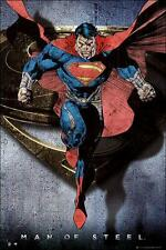 Superman Man of Steel : Comic Style Flying - Maxi Poster (new & sealed)