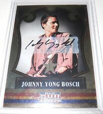 Panini Americana Autograph Costume Trading Card Johnny Yong Bosch #39 151/249
