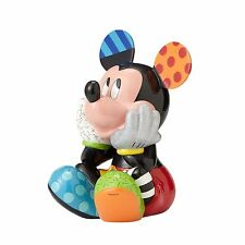 Britto Disney Mickey & Minnie Mouse Big Figure LIMITED EDITION Set/2 NIB