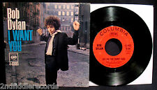 BOB DYLAN-I Want You-Very Rare Picture Sleeve & 45-COLUMBIA #4-43683