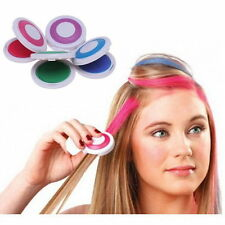 DIY Temporary Hair Chalk Special Color Dye Pastels Salon Kit Non-toxic 4 Colors