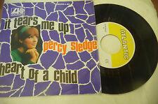 "PERCY SLEDGE""IT TEARS ME UP-disco 45 giri ATLANTIC Italy 1966"" PERFETTO"