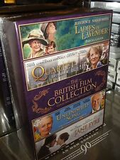 The British Film Collection (4-DVDS) Jane Eyre, Quartet, Unfinished Song, NEW!