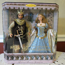 Barbie Together Forever Collection King Arthur and Queen Guinevere NRFB Limited