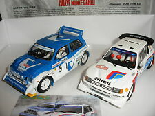 Scalextric - C3590A 1986 Monte Carlo Rally Ltd Edn - Peugeot v Metro 6R4 - NEW