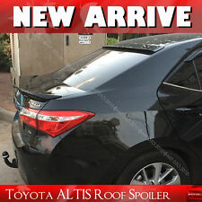 Painted FOR TOYOTA Corolla ALTIS Roof Spoiler Wing 2014+ 4DR Sedan EUR Model §