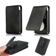 Faux Leather Flip Folio Clip Case Cover Skin For Apple iPod Classic 80 120GB New