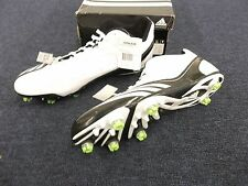 ADIDAS SCORCH THRILL SUPERFLY MID CLEATS FOOTBALL MENS SHOES SIZE 15 WHITE NEW