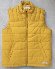 Lucky Brand Outdoor Gear Uni-Sex Size XL Mustard Yellow Puffer Vest $99.00 NWT