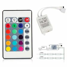 3 Channels Music 24Key Remote 12V DC Smart IR Controller for RGB LED Strip Light