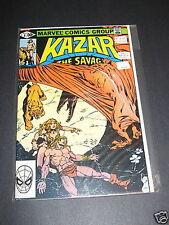 Kazar The Savage .50 cover #6 Marvel Comics 1981 VFNM