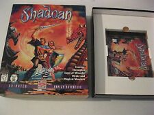 Shadoan PC game complete CD-ROM DOS version 1996