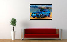 BMW X6 M NEW GIANT LARGE ART PRINT POSTER PICTURE WALL