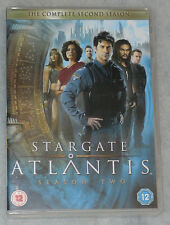 Stargate Atlantis Season 2 Two Complete DVD Box Set BRAND NEW R2 UK