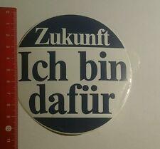 Aufkleber/Sticker: Zukunft ich bin dafür (29101633)