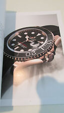 Rolex Oyster Perpetual basel world 2015 watch Catalog book new rare!