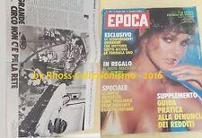 EPOCA _maggio 1982 _Addio Gilles VILLENEUVE_PRISCILLA PRESLEY_CAROL ALT_FALKLAND