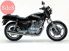 Suzuki GSX 400 F (1981-1983) - Workshop Manual on CD