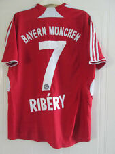 Bayern Munich 2007-2009 Ribery 7 Home Football Shirt Size Small /38029