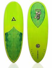 "New Triple X The 5'8"" Stinger Epoxy Funboard Surfboard/Pixel"